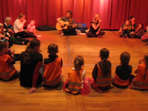 Musikskoj på Kulturhuset Fregatten